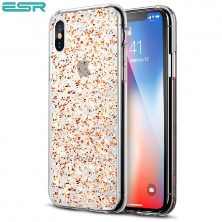 ESR Spark case for iPhone X, Gold