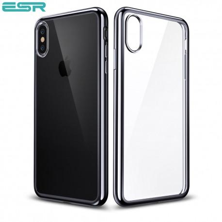 Husa slim ESR Eseential Twinkler iPhone X, Black