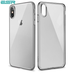 ESR Eseential Zero slim case for iPhone X, Clear Black