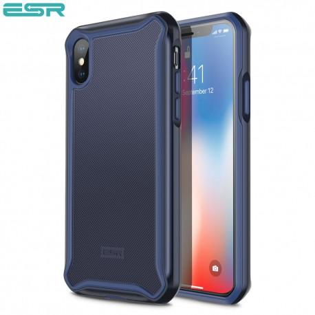 Carcasa ESR Glacier iPhone X, Purplish Blue
