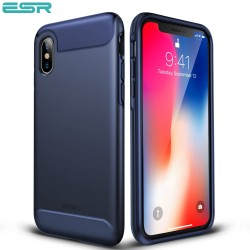 Carcasa ESR Rambler iPhone X, Purplish Blue