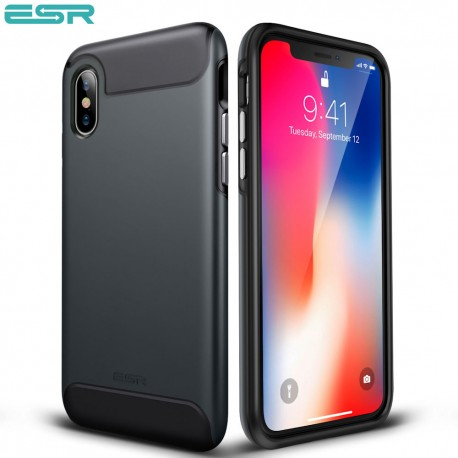 ESR Rambler case for iPhone X, Black