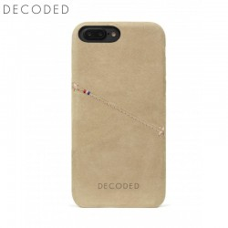 Decoded leather Back Cover for iPhone 8 Plus, 7 Plus, 6s Plus, 6 Plus, Sahara