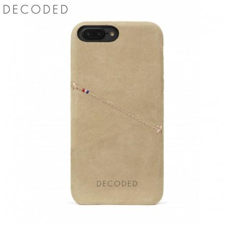 Carcasa piele Decoded Back Cover iPhone 8 Plus, 7 Plus, 6s Plus, 6 Plus, Sahara