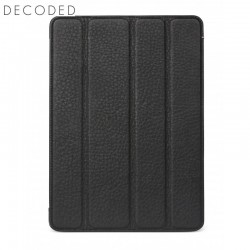 Decoded leather Tablet Slim Cover for iPad 9,7 inch 2017 and 2018, Black