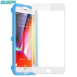 Folie sticla securizata ESR, Tempered Glass Full Coverage iPhone 6s / 6, White Edge