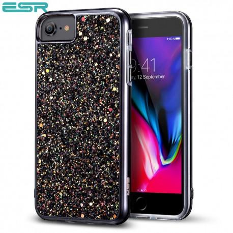 Carcasa ESR Glitter iPhone 8 / 7, Black