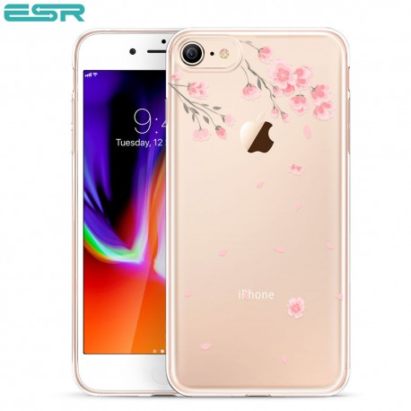 Carcasa ESR Mania iPhone 8 / 7, Cherry Blossoms