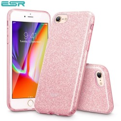ESR Makeup Glitter case for iPhone 8 / 7, Rose Gold