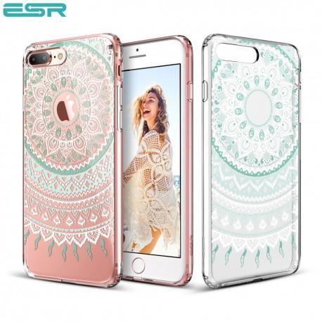 ESR Totem case for iPhone 8 Plus / 7 Plus, Mint Mandala
