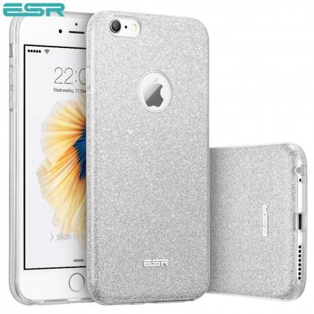 Carcasa ESR Makeup Glitter iPhone 6s / 6, Maze Silver