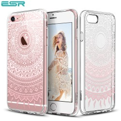 ESR Totem case for iPhone 6s / 6, Pink Manjusaka