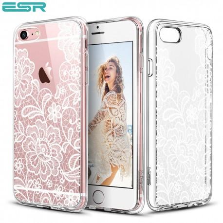 Carcasa ESR Totem iPhone 6s / 6, Lace White Floral