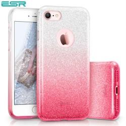 ESR Makeup Glitter Sparkle Bling case for iPhone 8 / 7, Ombra Pink
