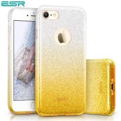 ESR Makeup Glitter Sparkle Bling case for iPhone 8 / 7, Ombra Gold