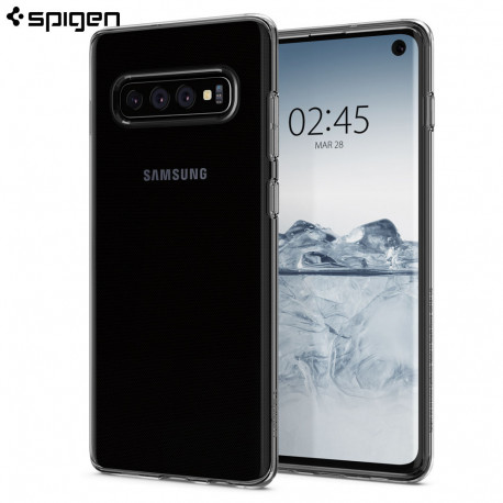 Carcasa Spigen Samsung Galaxy S10 Case Crystal Flex, Crystal Clear
