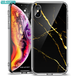 Carcasa ESR Mimic-Marble iPhone XS Max, Black