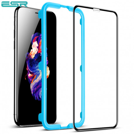 ESR iPhone XR Tempered Glass Full Coverage Screen Protector