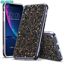 ESR Glitter case for iPhone XR, Black