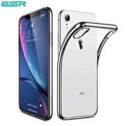 Husa slim ESR Eseential Twinkler iPhone XR, Silver