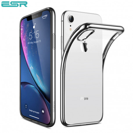 ESR Eseential Twinkler slim cover for iPhone XR, Silver