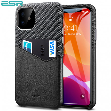 Carcasa ESR Metro iPhone 11, Black