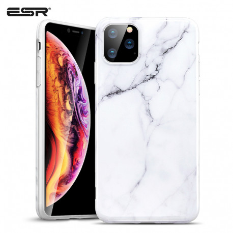 ESR Marble case for iPhone 11 Pro Max, White