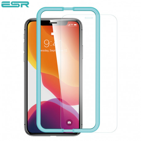 Folie sticla securizata ESR, Tempered Glass iPhone 11 / XR