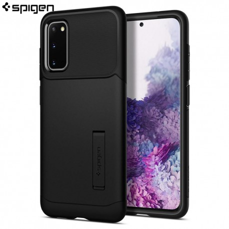 Carcasa Spigen Samsung Galaxy S20 Case Slim Armor, Black