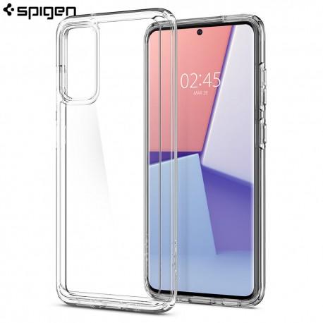 Carcasa Spigen Samsung Galaxy S20 Case Ultra Hybrid, Crystal Clear