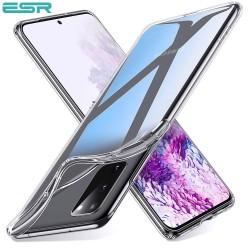 Husa slim ESR Essential Zero Slim Clear Soft TPU Case pentru Samsung Galaxu S20, Clear