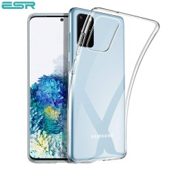 Husa slim ESR Essential Zero Slim Clear Soft TPU Case pentru Samsung Galaxy S20 Plus, Clear