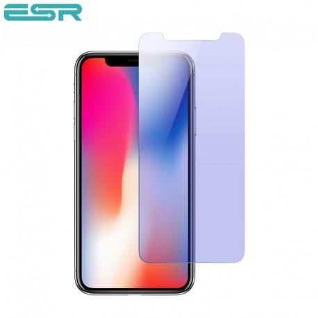 Folie sticla securizata ESR, Tempered Glass iPhone XS / X , Anti Blue