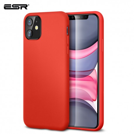 ESR Yippee Color case for iPhone 11, Red