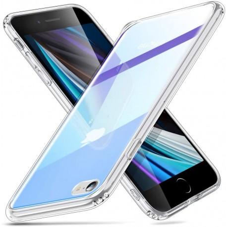 ESR iPhone SE 2020 / 8 / 7 Mimic-Ice Shield Tempered Glass Case, Blue-Purple