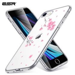 Carcasa ESR iPhone SE 2020 / 8 / 7 Mania, Cherry Blossoms