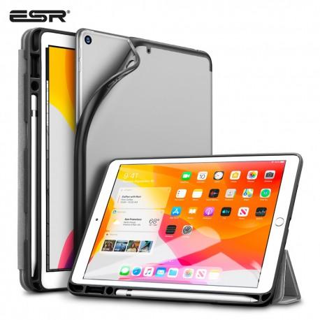Carcasa ESR Rebound Pencil iPad 10.2 2019, Silver Gray