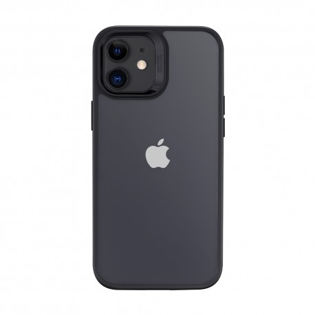 ESR Classic Hybrid iPhone 12, Black bumper Clear back