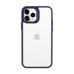 Carcasa ESR Classic Hybrid iPhone 12 Pro Max, Blue bumper Clear back