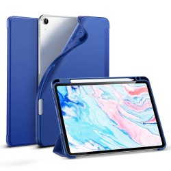 Carcasa ESR iPad Air 4 10.9 inchi (2020) Rebound Pencil, Navy Blue