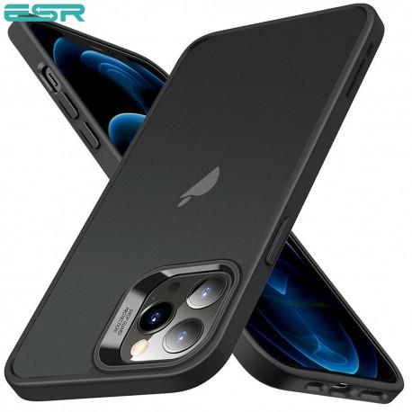 ESR Classic Hybrid - Black frame - Trans Black back case for iPhone 12 Pro Max